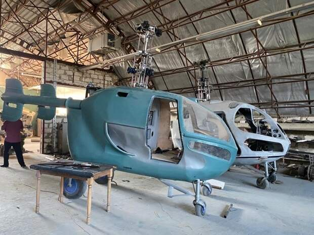 Накрылся подпольный вертолетный завод