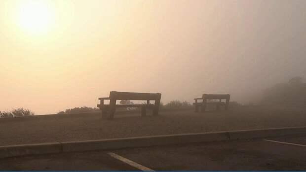 Марсианские пейзажи, выжженная земля, огненный смерч: репортаж из зоны бедствия в США