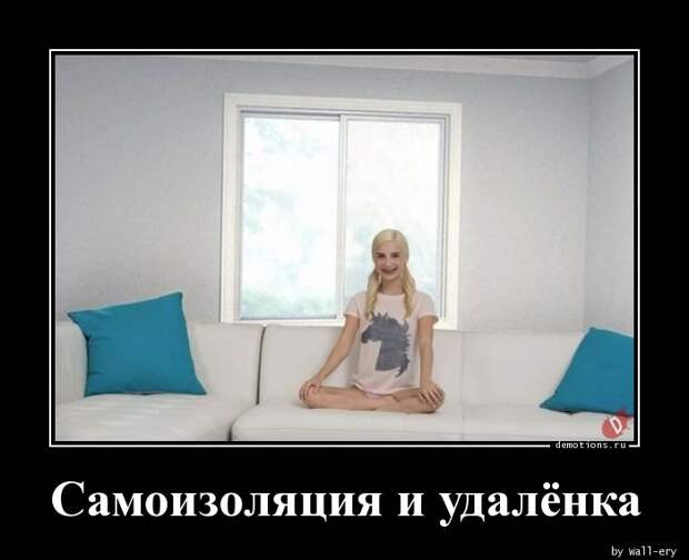 Самоизоляция и удалёнка » Demotions.ru - ДЕМОТИВАТОРЫ.