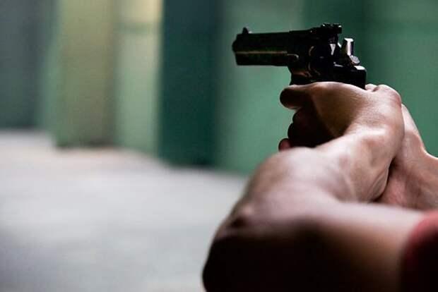 Пушка, Руки, Черный, Оружие, Человек