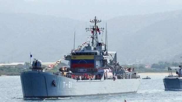 Иранские танкеры снефтью будет охранять армия Венесуэлы