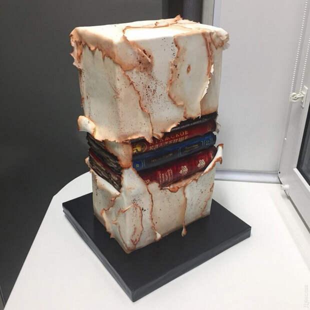 Кондитер-самоучка Кристина Дольник делает уникальные торты без мастики