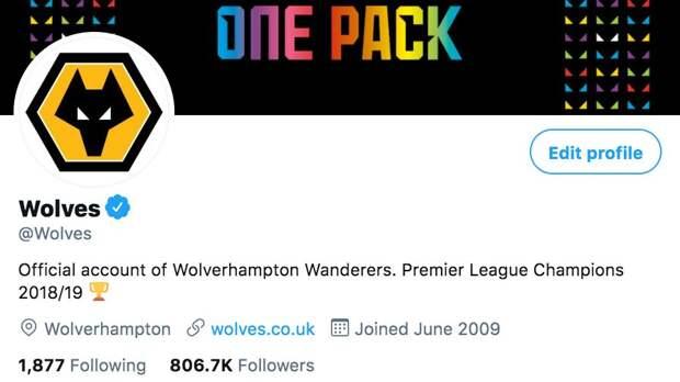 «Вулверхэмптон» назвал себя чемпионом АПЛ-2018/19 в твиттере. «Вулвз» тогда стали первыми после 6 основателей Суперлиги