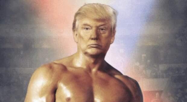 Нет времени объяснять: Дональд Трамп запостил фотку с телом Рокки