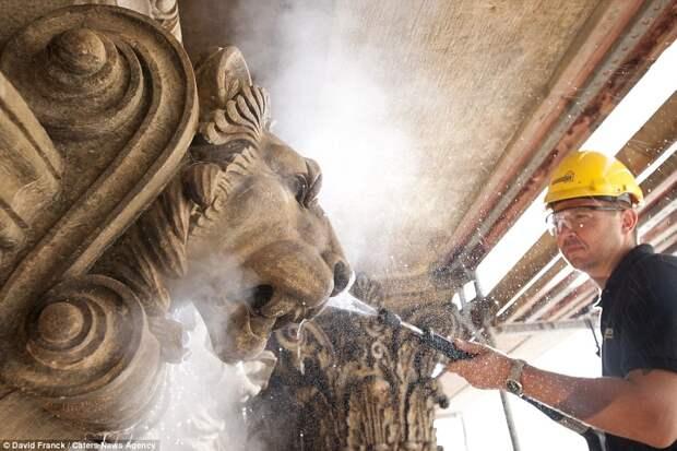 Чистка памятников культуры
