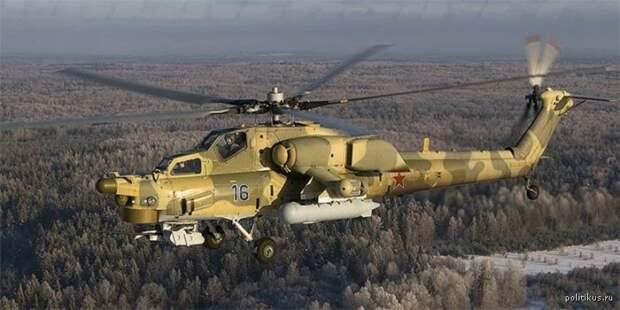 Ми-28 начали патрулирование границы с Украиной