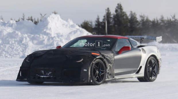 Ждите и бойтесь: убойный Chevrolet Corvette появится летом!