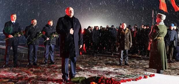 Пиар на памяти Хатыни, или Как Лукашенко перестал заигрывать с националистами