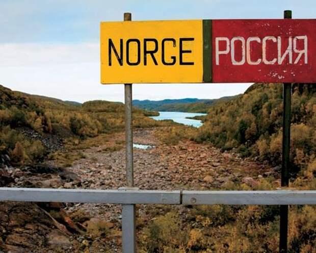 Норвежцы смеются над 200-метровым забором на границе с Россией