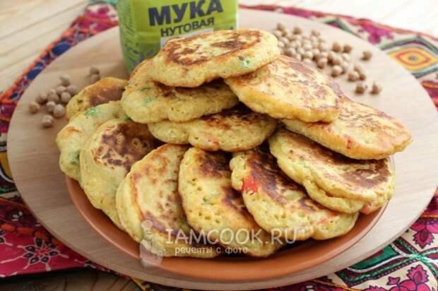 Рецепт индийских лепешек Пудла