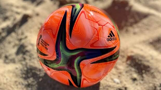 Представлен официальный мяч чемпионата мира по пляжному футболу в России