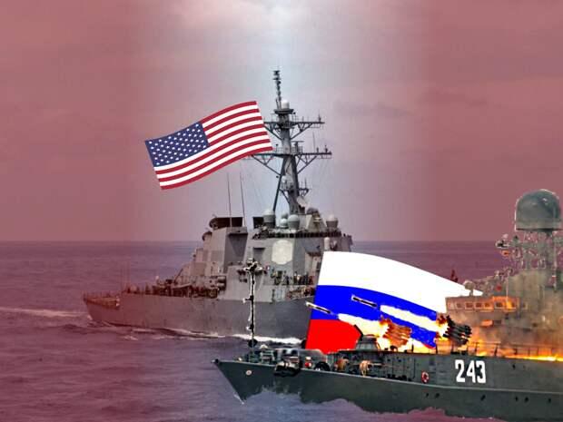 """США заявили протестное недовольство в адрес России в связи с """"недопустимо жестким прессингом"""" эсминца """"Лабун"""" в Черном море"""
