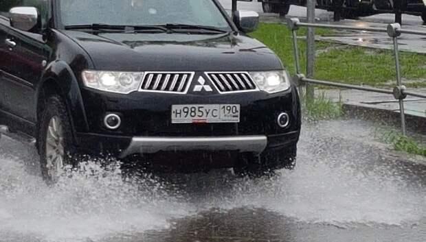 «Желтый» уровень погодной опасности из‑за дождя объявили в Московском регионе