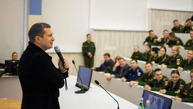 Соловьев получил премию ТЭФИ за свои интервью