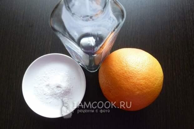 Ингредиенты для коктейля «Соленый пес»