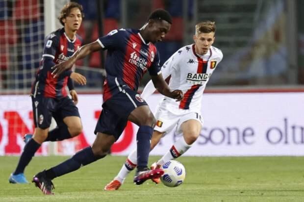 Защитник «Болоньи» Амей – самый молодой игрок в истории Серии А