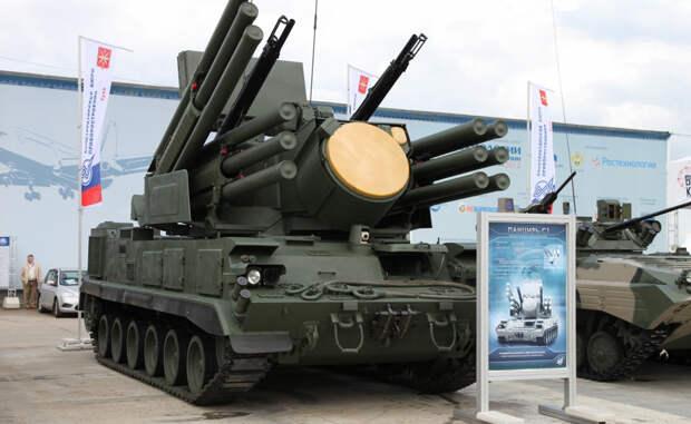 Военная машина современной России