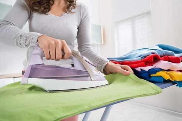 С помощью маленькой хитрости гладить можно буквально в 2 раза быстрее