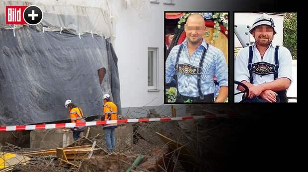 Трагедия на стройке в Денклингене: по чьей вине погибли четверо рабочих?