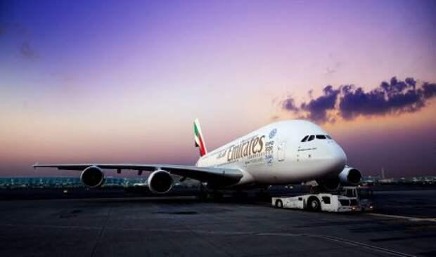 Airbus A380-861 авиакомпании Emirates