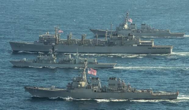 Территориальные воды РФ – запретная зона для американского флота