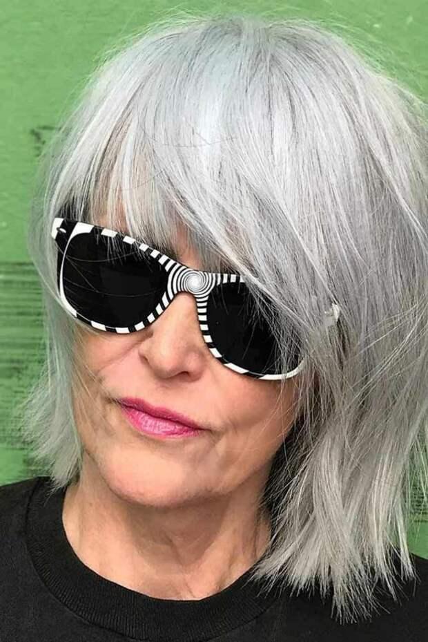 50 – возраст контрастов или не бойтесь экспериментировать со своей прической