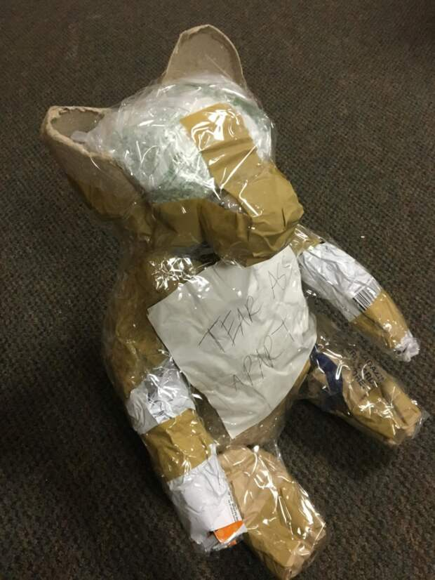 Супер-упаковка подарка (розыгрыш)