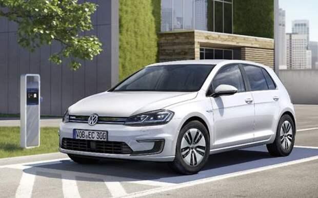 Озеленитель имиджа: Volkswagen обновил электромобиль e-Golf