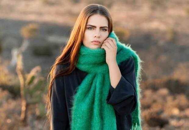 6 моделей модных шарфов на весну 2021, которые помогут создать красивый образ