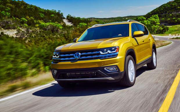 Volkswagen Teramont для России: два двигателя и пятиместный салон