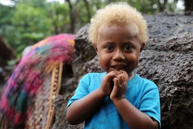 Блондинка из Вануату.