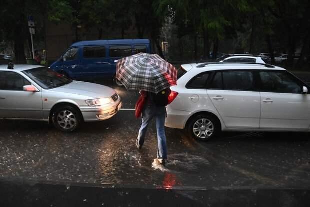 К концу недели Москву накроет мощный грозовой вал