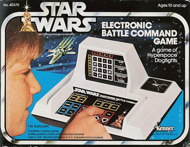 Электронная настольная игра Star Wars (1979)