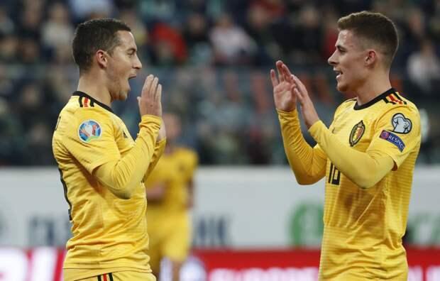 Объявлен состав сборной Бельгии на Евро-2020
