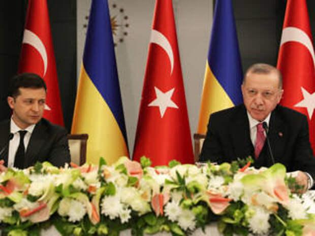 После встречи с Зеленским Эрдогана позвали в Крым