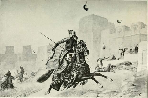 В битве с египтянами персы вместо щитов прикрывались… кошками