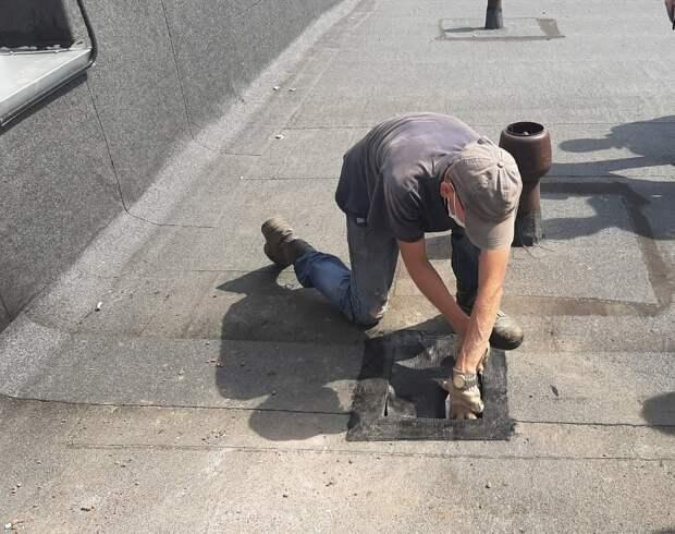 В Ижевске начали проверять кровли, которые заменили по программе «Большой ремонт»