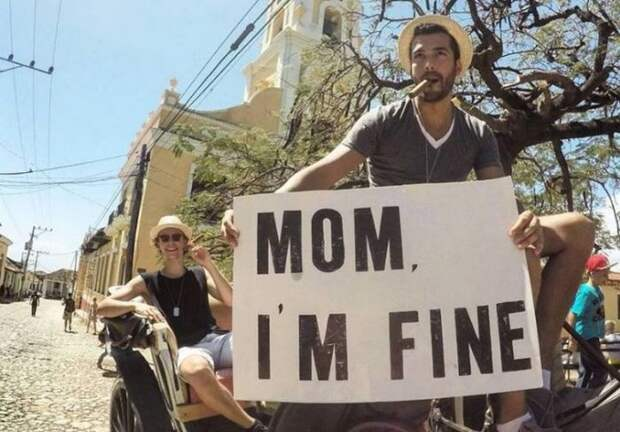 Mom, I`m Fine — послания для мамы