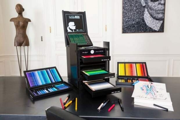 The Karlbox: стартовый набор модельера от Faber-Castell