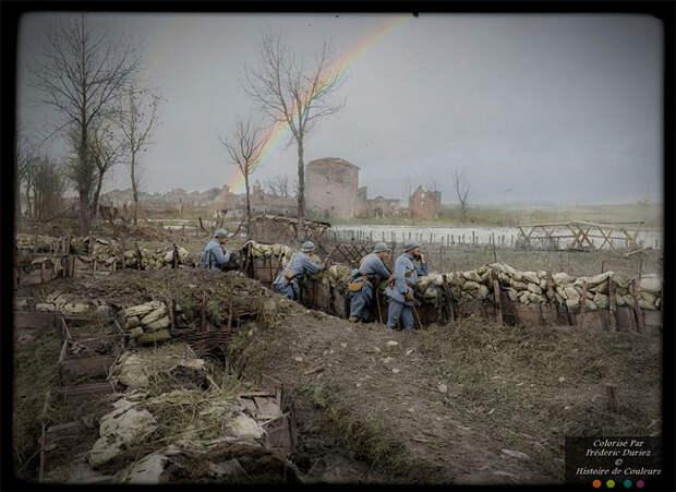 Цветные снимки Первой мировой войны, которые сделаны как будто вчера