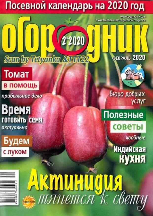 Огородник №2, февраль 2020