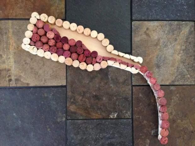 Что можно сделать из использованных винных пробок? Лайфхаки