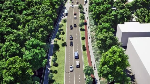 Собянин утвердил проект реконструкции Ботанической улицы в Москве