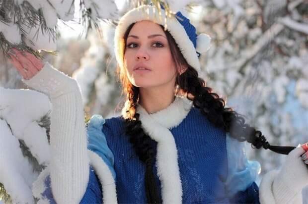 Красивые снегурочки к Новому году