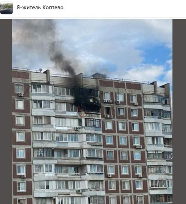 Пострадавшие от пожара на Большой Академической разыскивают видеозаписи происшествия
