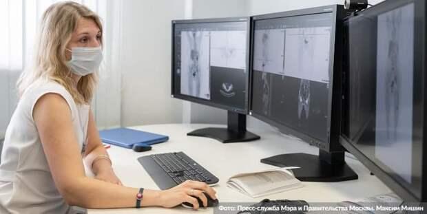 Москва утвердила расширение эксперимента по внедрению ИИ-технологий в здравоохранении Фото: М. Мишин mos.ru