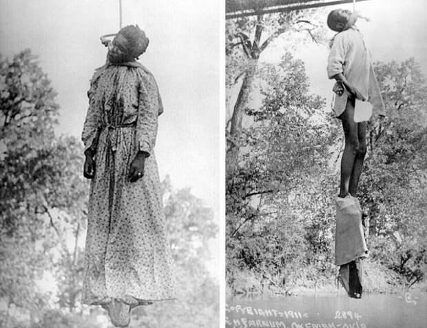 Лаура Нельсон и ее 15-летний сын подверглись линчеванию за то, что отец семейства украл корову и застрелил шерифа. Оклахома, США, 1911 | Фото: glavpost.com