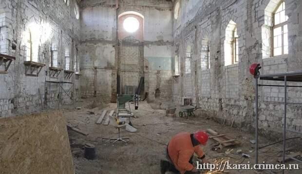 Реставрацию караимских кенасс в Симферополе должны закончить в этом году