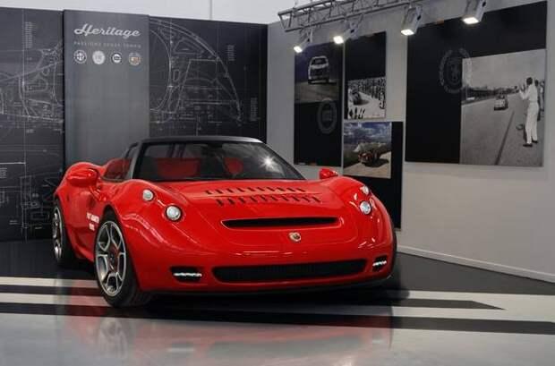 Alfa Romeo 4C превратили в штучный спорткар Abarth 1000 SP