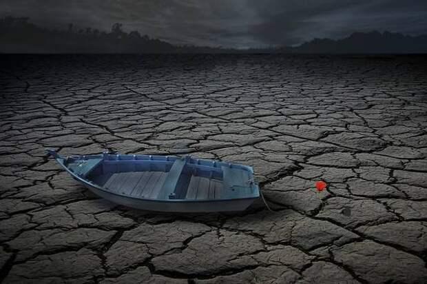 Реки не переживут засуху на Земле: они не устойчивы к изменению климата